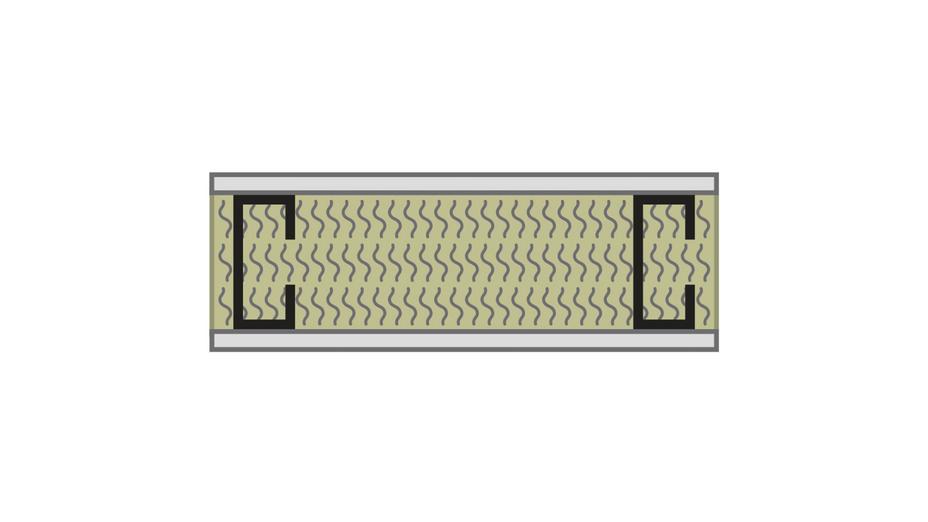 RFN-NA, optimized acoustics, sound blocking, alternate wall assembly STC 40 -1