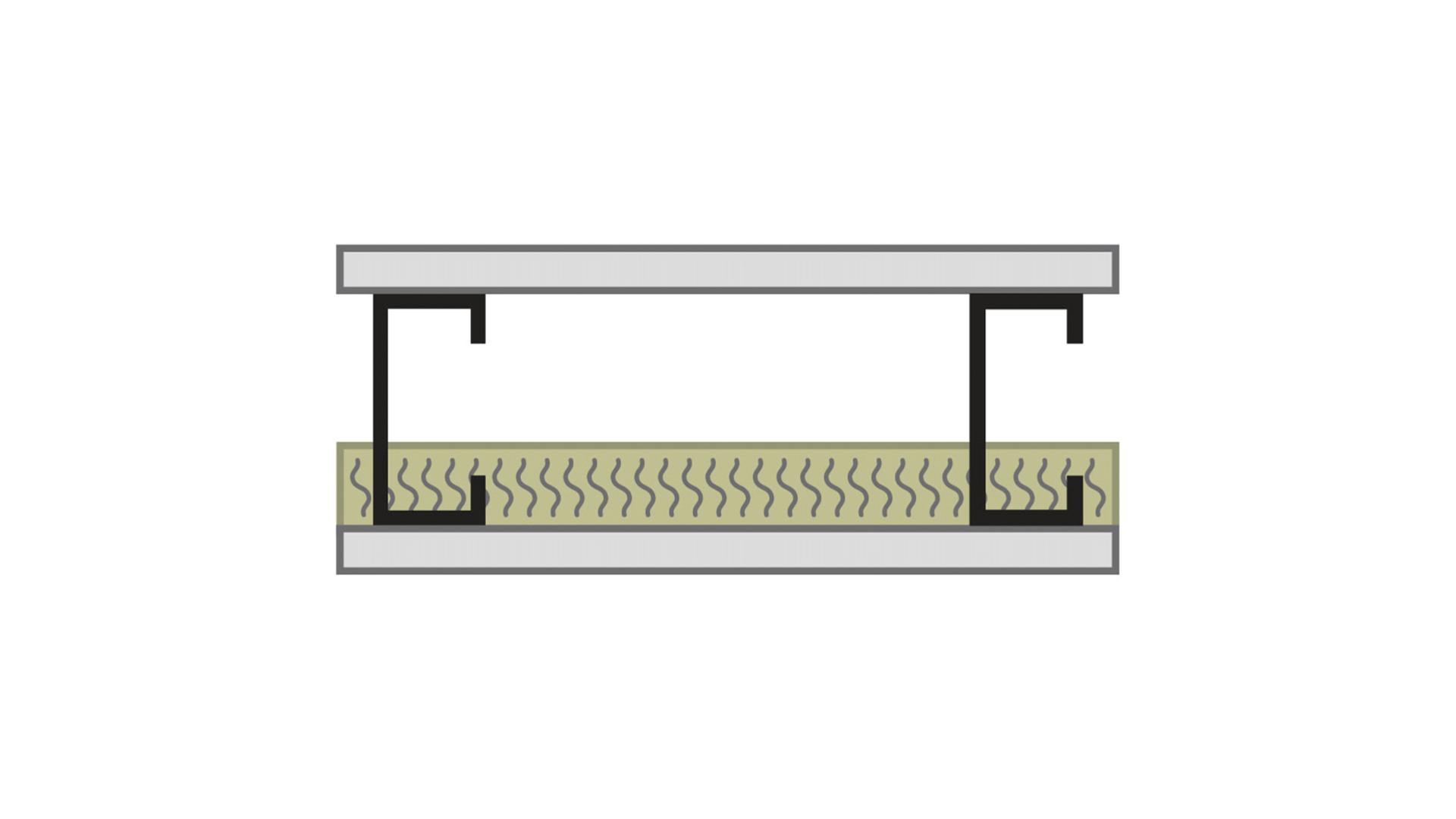 RFN-NA, optimized acoustics, sound blocking, alternate wall assembly STC 45 -1