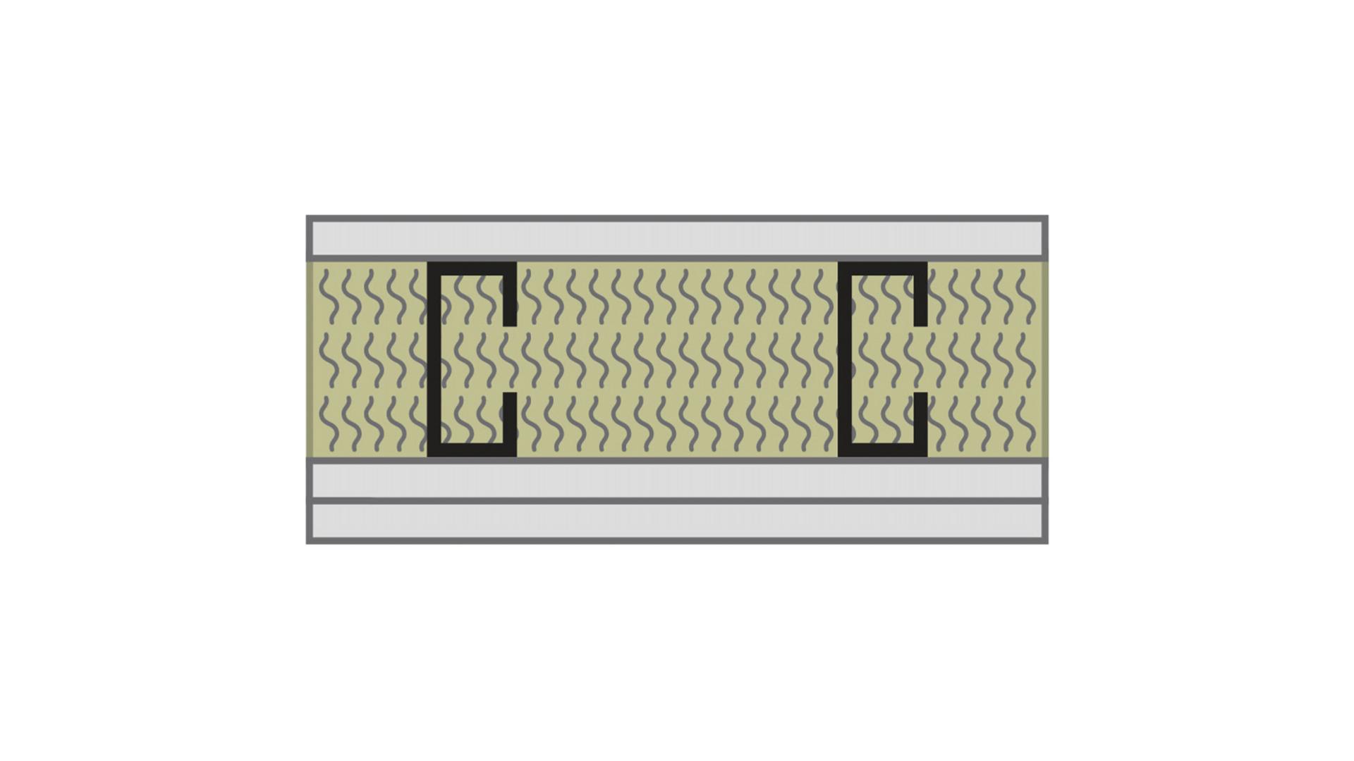 RFN-NA, optimized acoustics, sound blocking, alternate wall assembly STC 45 -2