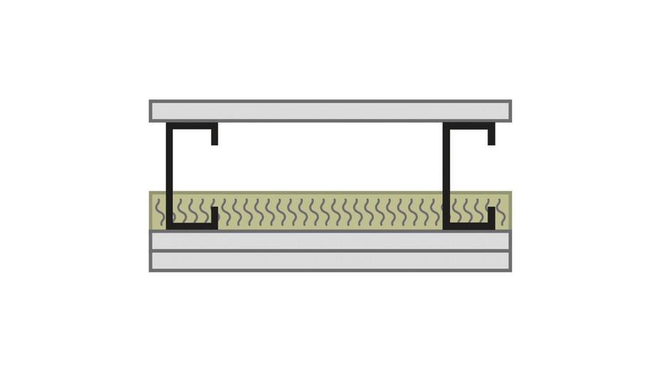 RFN-NA, optimized acoustics, sound blocking, alternate wall assembly STC 50 -1