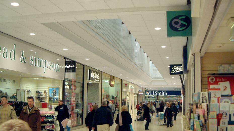 Waltham Cross Shopping Centre, Pacific E-edge 600x600