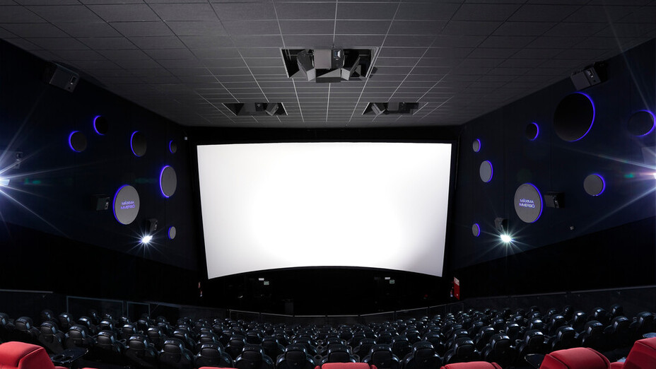Cinemes Centre Splau, Coloral Th 40 Black A-edge, Baffles Deco 40, leisure movie theatre
