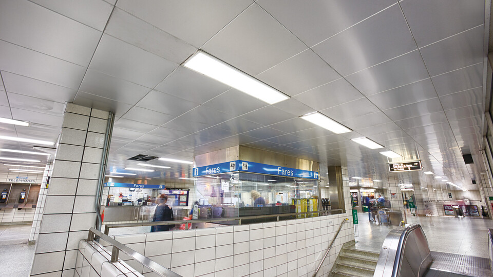 Toronto Transit Comission, Islington Subway, Toronto Transit Comission--Plant Maintenance Department, Arrlin Acoustics, Planostile Snap-in system, Transportation, Mark Borosch Photography