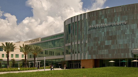 University of South Florida Marshall Student Center, Gould Evans Associates, The Beck Group, Metal Ceilings, Education