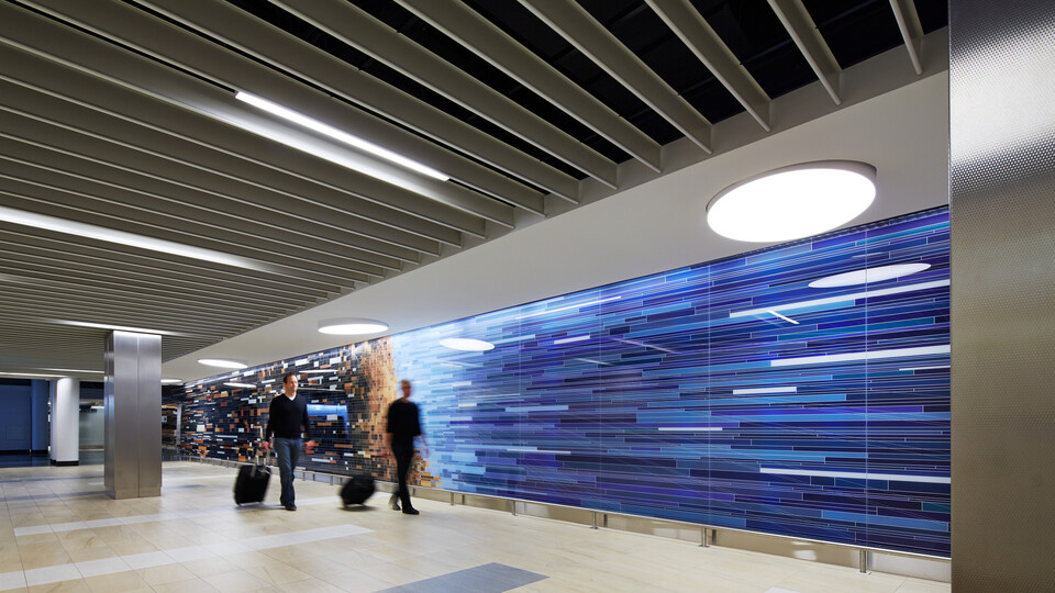 Airport Ceilings Transformation Case Study Rockfon