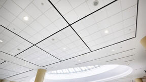 Metro Toronto Convention Centre (MTCC), Toronto, Canada, 3771,9	m2, B + H Architects, Showtech Power & Lighting, LEED, Bochsler Creative Solutions, Koral, Square Tegular, 2' x 2', White, Renovation