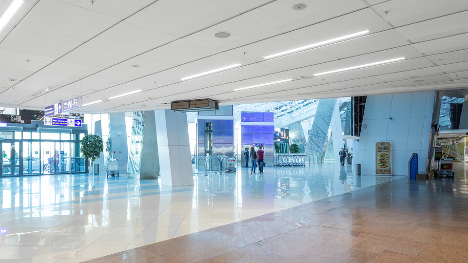 stone wool sustainable airport designs