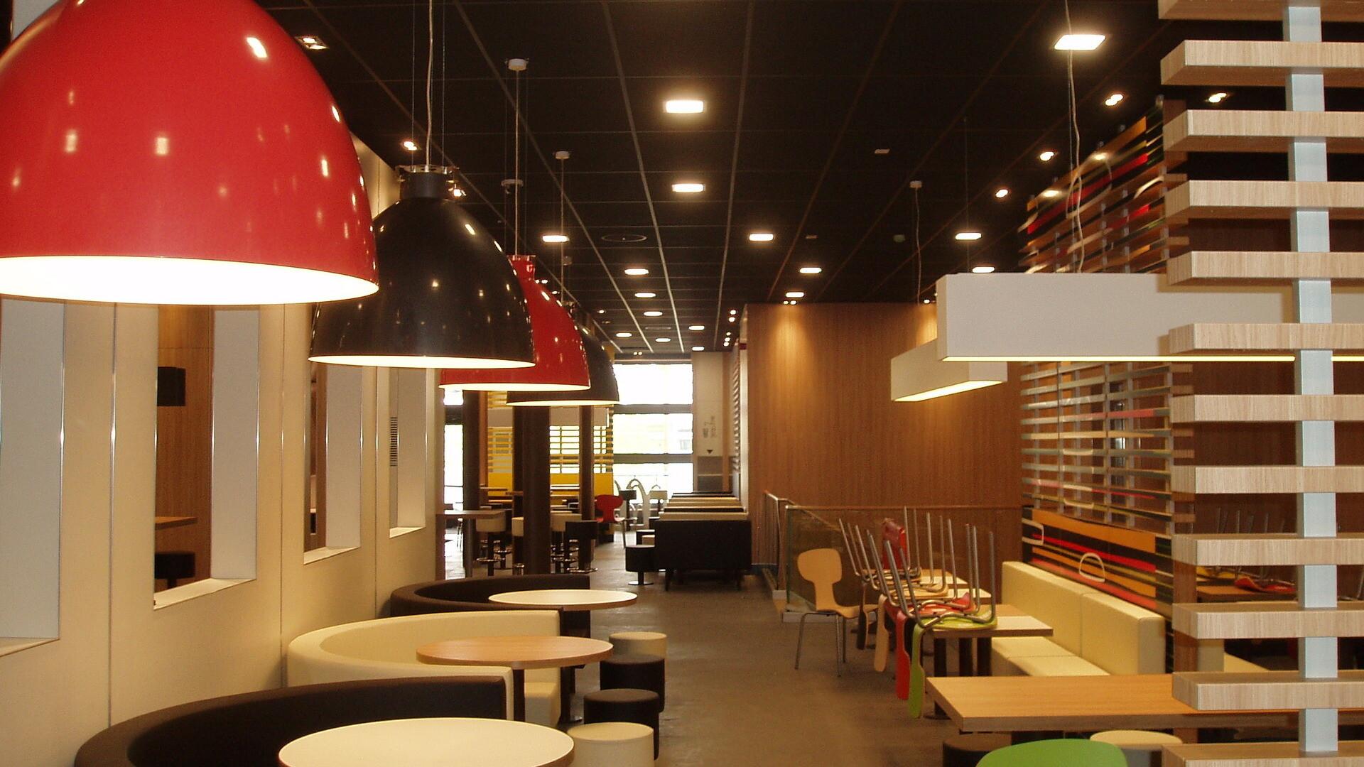 Design flexibility for sustainable restaurant design
