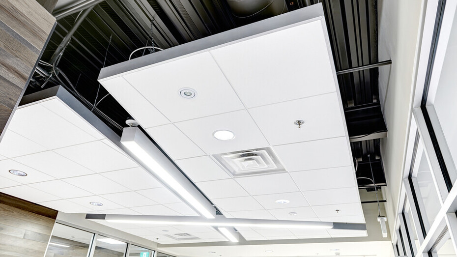 Infinity Perimeter Trim Helps Designers Create Ceiling Clouds