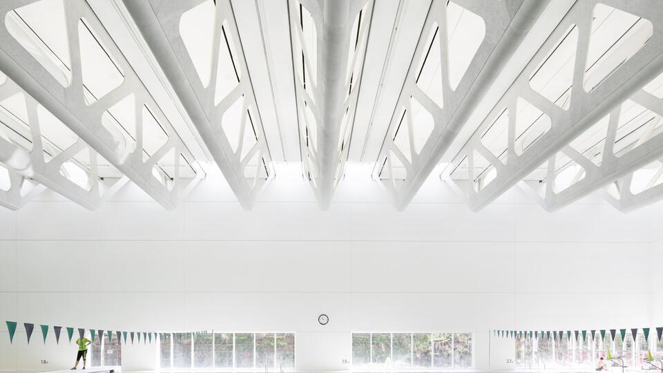 Guildford Aquatic Centre Canada Surrey 10405 M² Bing Thom Architects Shape