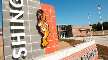 Cushing Middle School and High School Fieldhouse, Cushing School District, Boynton Williams & Associates (BWA), R.L.S. Construction, LLC,exterior