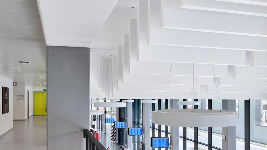 Cite Administratief,Belgium,La Louviere,ARTER,ROCKFON Contour,1200x600,white