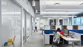 """NA, Avison Young, Perkins+Will, office, Sonar SLT 2x4, 1200 15/16"""" Exposed, Infinity"""