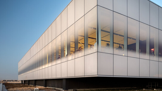 NA, Color-All CDX (X-Edge) 1x5 in Concrete, Gallery, Leisure, The Spy Museum™, Rogers Stirk Harbour + Partners
