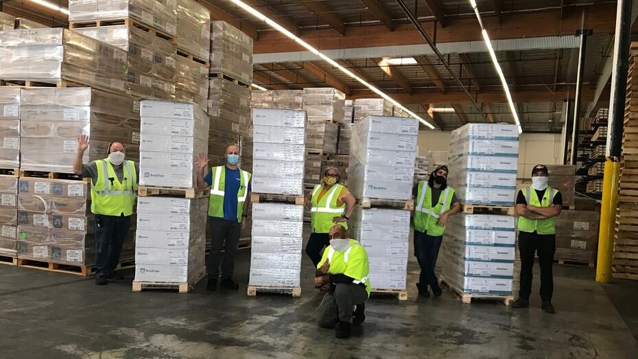 NA, Montebello Warehouse, Safety Milestone